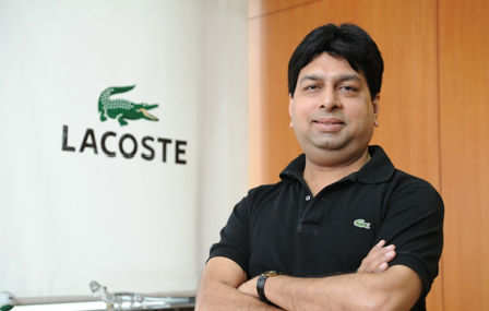 2ffe2926b Rajesh Jain (CEO   Director of Lacoste India)