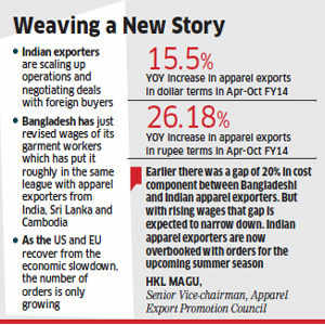 Bangladesh labour unrest sees US, EU apparel exporters diverting
