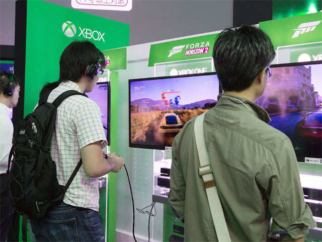 Xbox will be available for Rs39,990, while the model with Kinect, an interface that allows the use of gestures to play games, will cost Rs45,990.  (sourec: EPA photo)