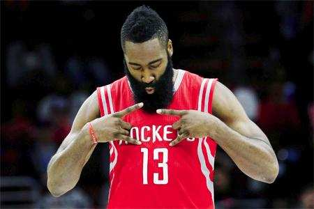 bce8f62f3630 NBA star James Harden will soon be dribbling the ball with Adidas sneakers  on his feet