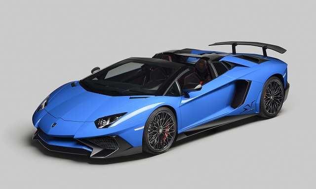 Lamborghini Aventador LP 750 4 Superveloce Roadster Makes Global Debut In  California