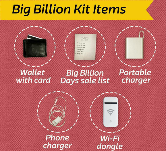 164c19fcc Flipkart commemorated its Big Billion Days Sale with a digital campaign on  Instagram. Created by Dentsu Aegis Network s digital agency Dentsu  Webchutney