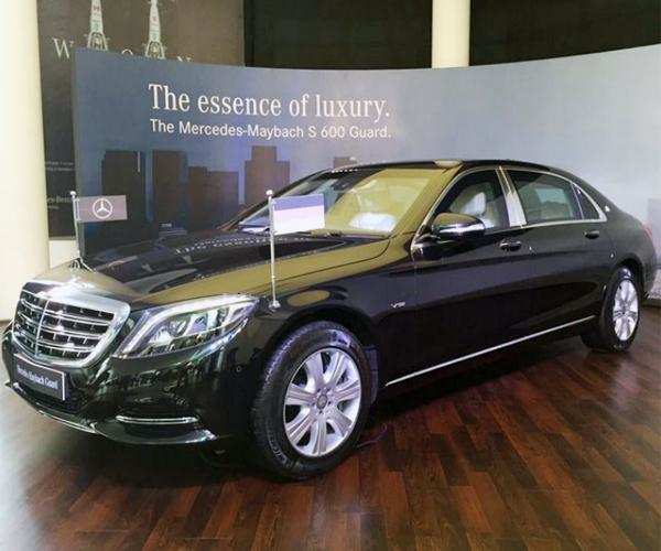 Mercedes Maybach S 600 Guard launched at Rs 10 5 cr (ex