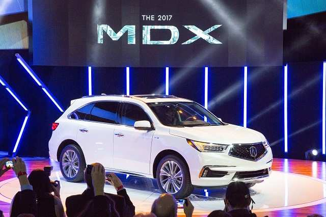 Acura Unveils Its Refreshed 2017 Mdx Suv At New York Auto Show 2016