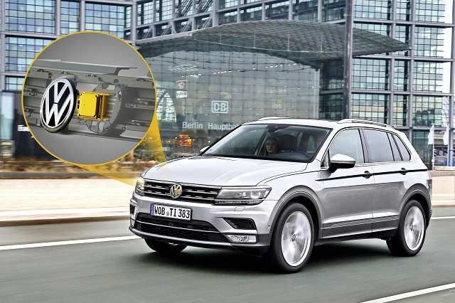 New VW Tiguan now comes with Continental's sensor which