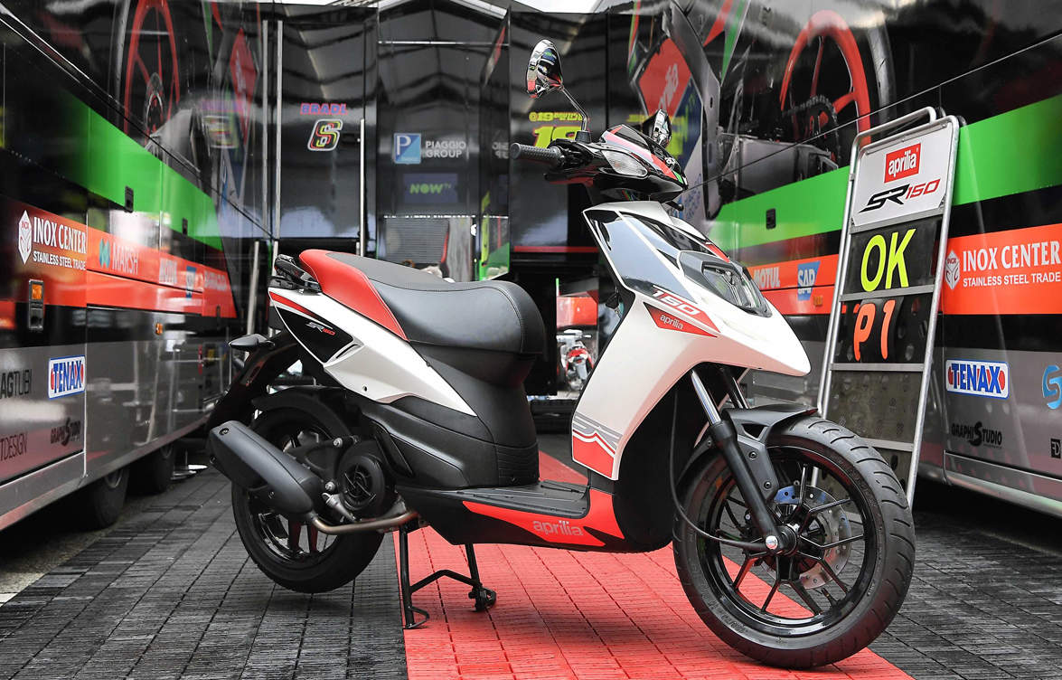 piaggio to launch aprilia sr 150 at rs 65,000 (on road pune), auto