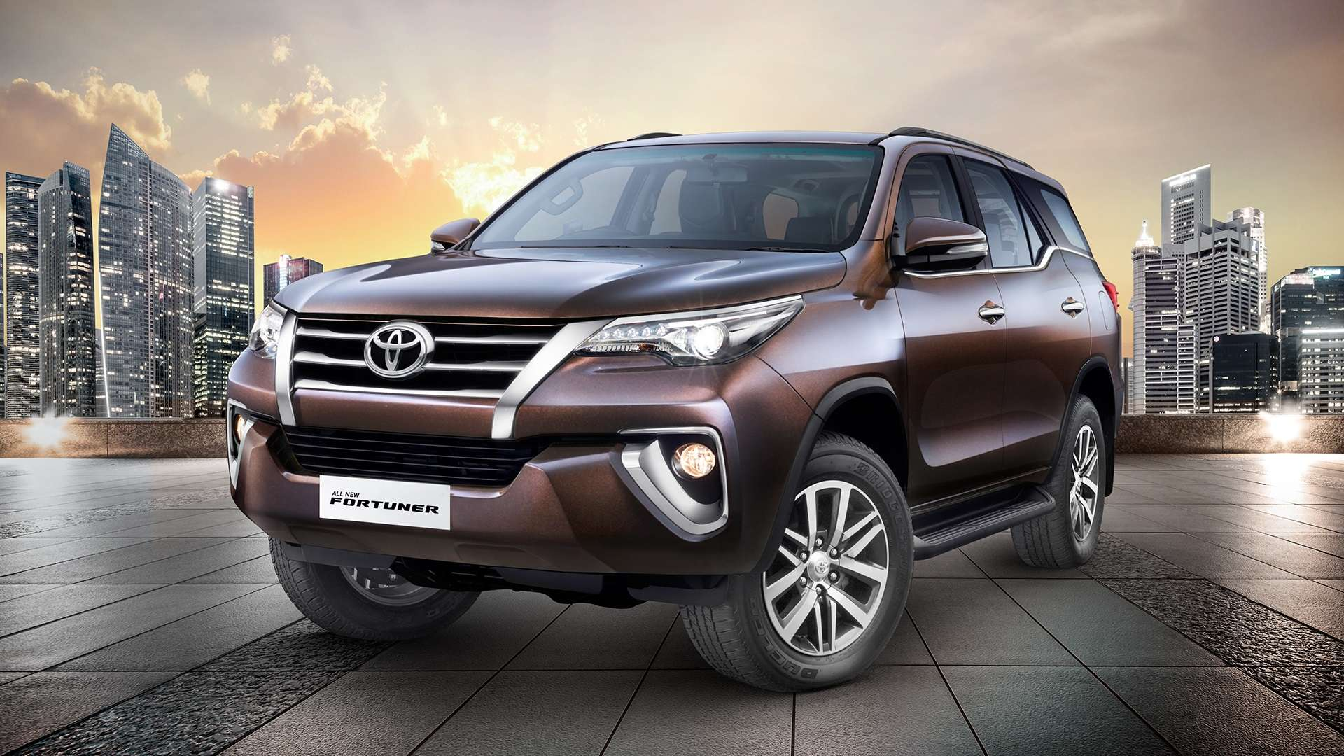 Toyota Fortuner Exterior Front