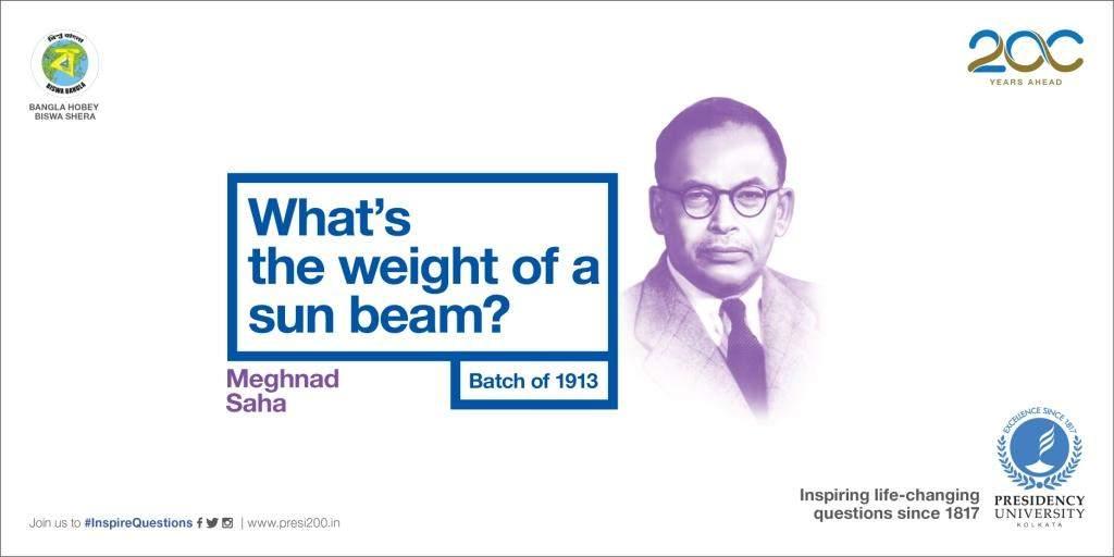 The man behind who developed Saha ionization equation.