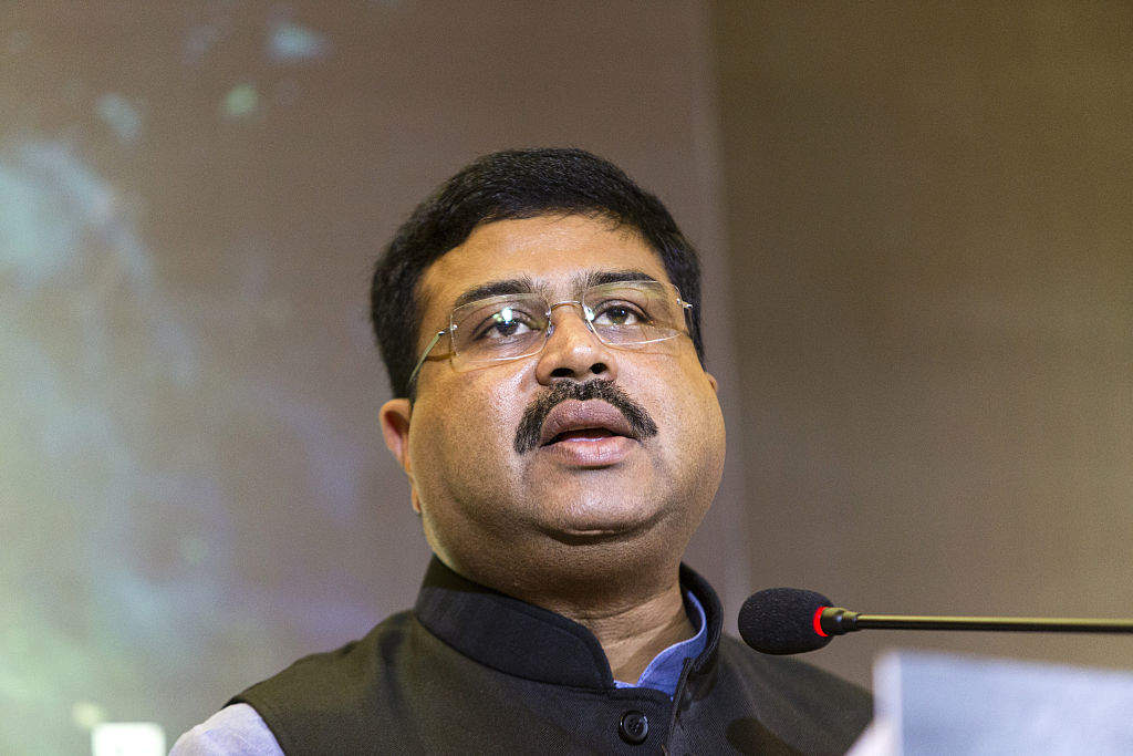 Image result for Oil Minister Dharmendra Pradhan