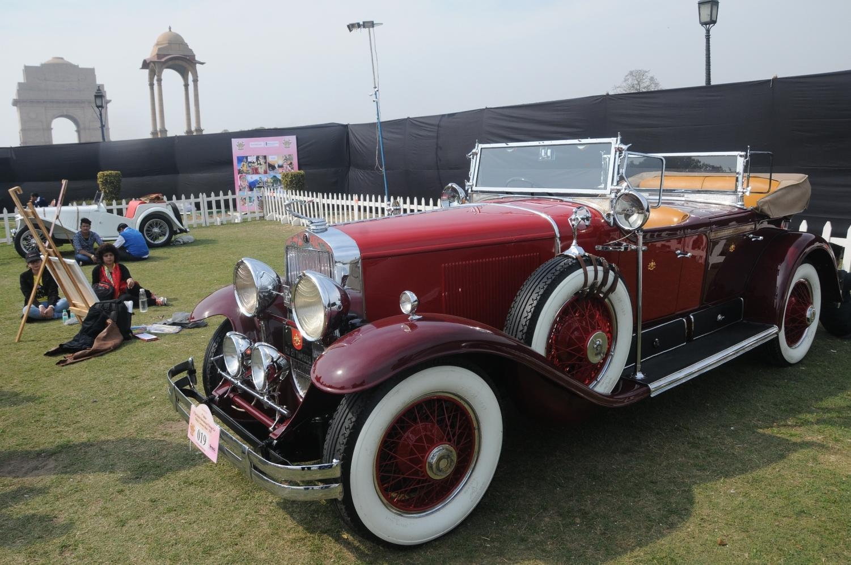Vintage Car Rally Delhi Vintage Car Rally Displays Over Rare