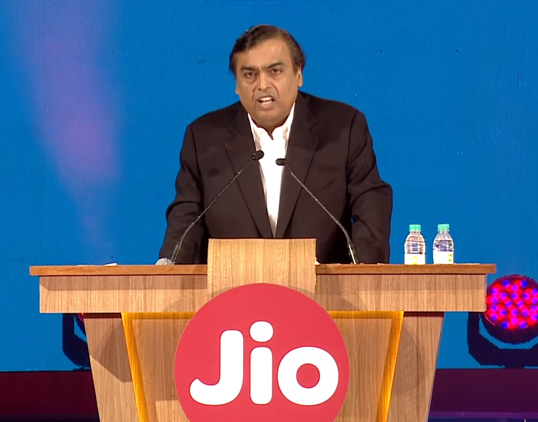 Reliance Jio crosses 100 mn customers in 170 days, adds 7 customers per second on avg: Mukesh Ambani