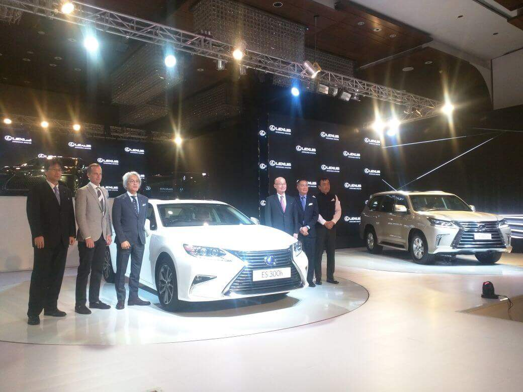 Lexus debuts in india