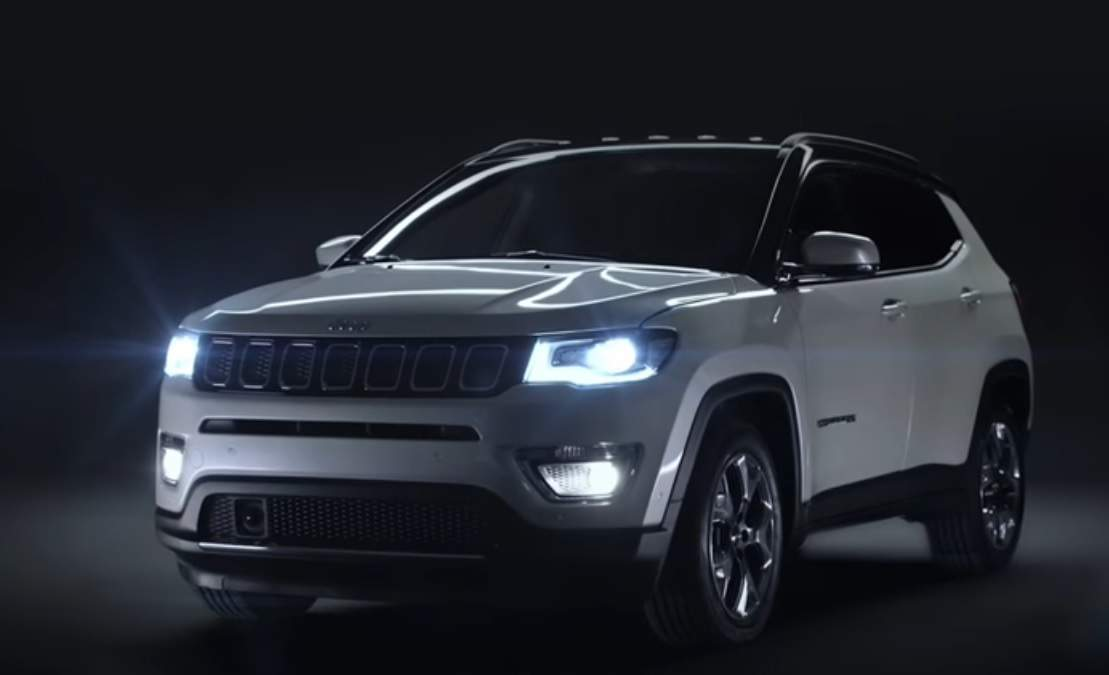 Jeep Compass Jeep Compass Suv Teased In India Auto News Et Auto