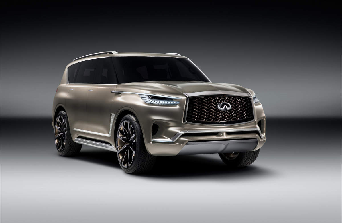 Infiniti QX Monograph Infiniti QX Monograph To Be Unveiled At - Infiniti car show