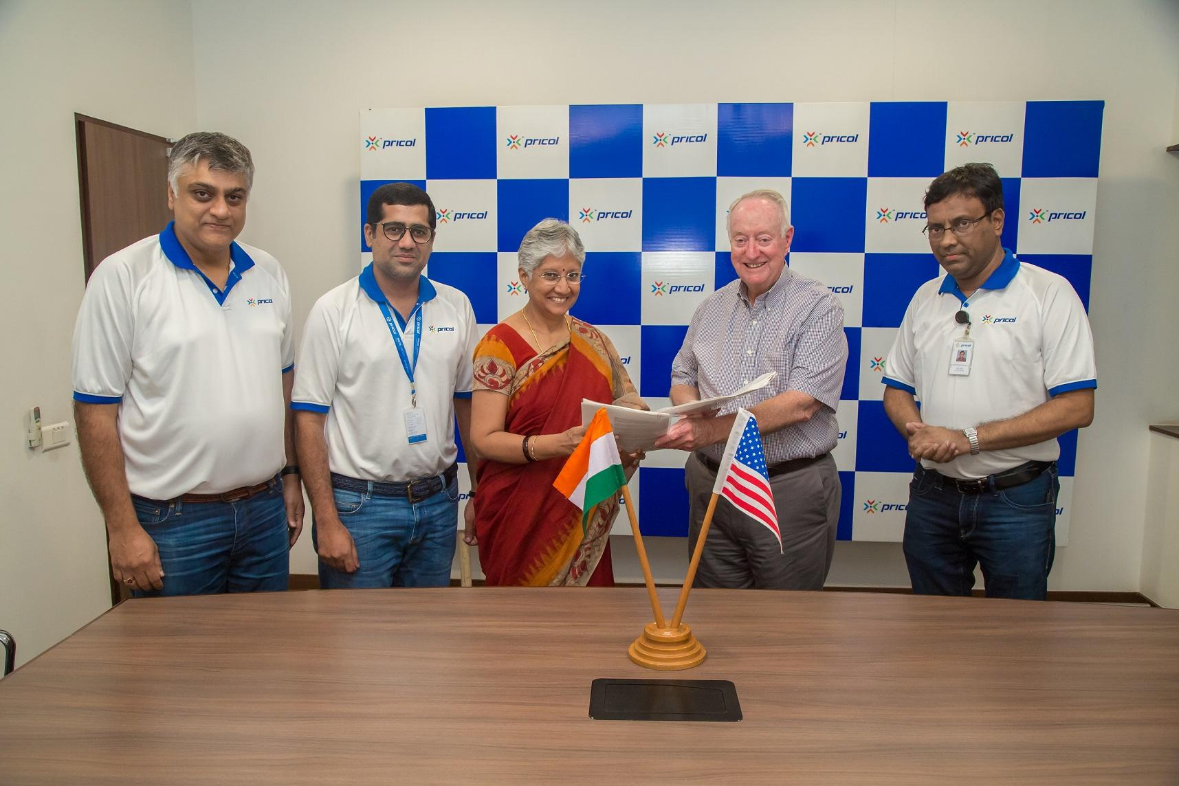Pricol: Pricol signs MoU with Kerdea Technologies, USA for