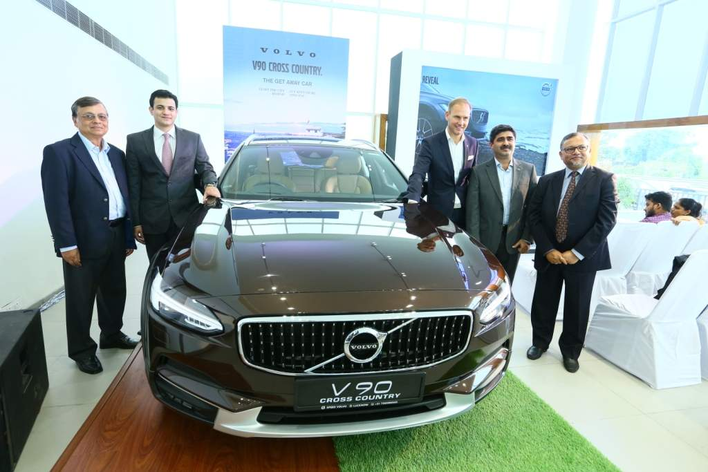 Volvo Volvo Enters Uttar Pradesh Opens Dealership In Lucknow Auto News Et Auto