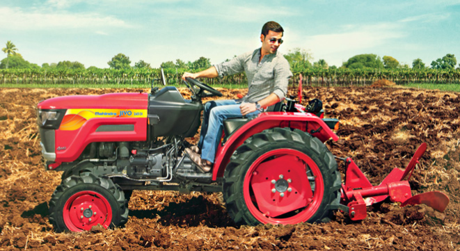 Jivo Mahindra Launches New Small Tractor Jivo Auto News Et Auto