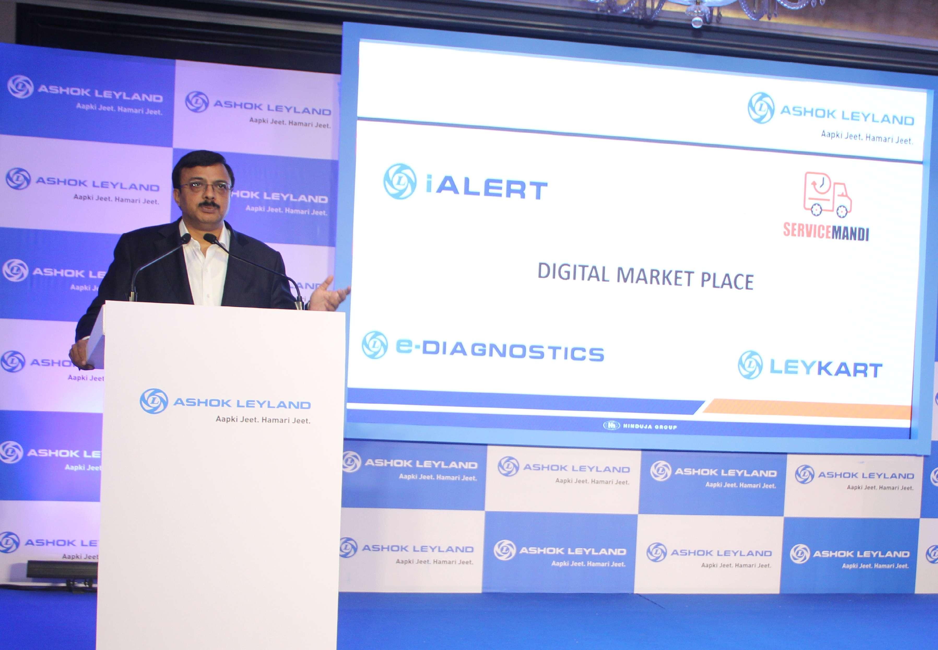 Ashok leyland: Ashok Leyland introduces Digital Market place