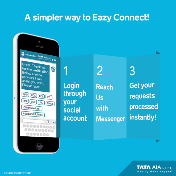 Tata AIA Life\'s Eazy connect chatbot extends customer service to ...