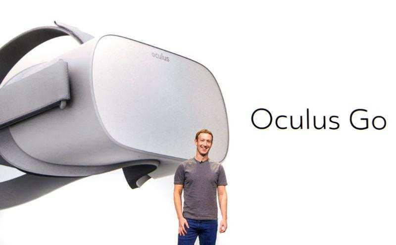 Facebook: Facebook debuts a portable VR headset Oculus Go