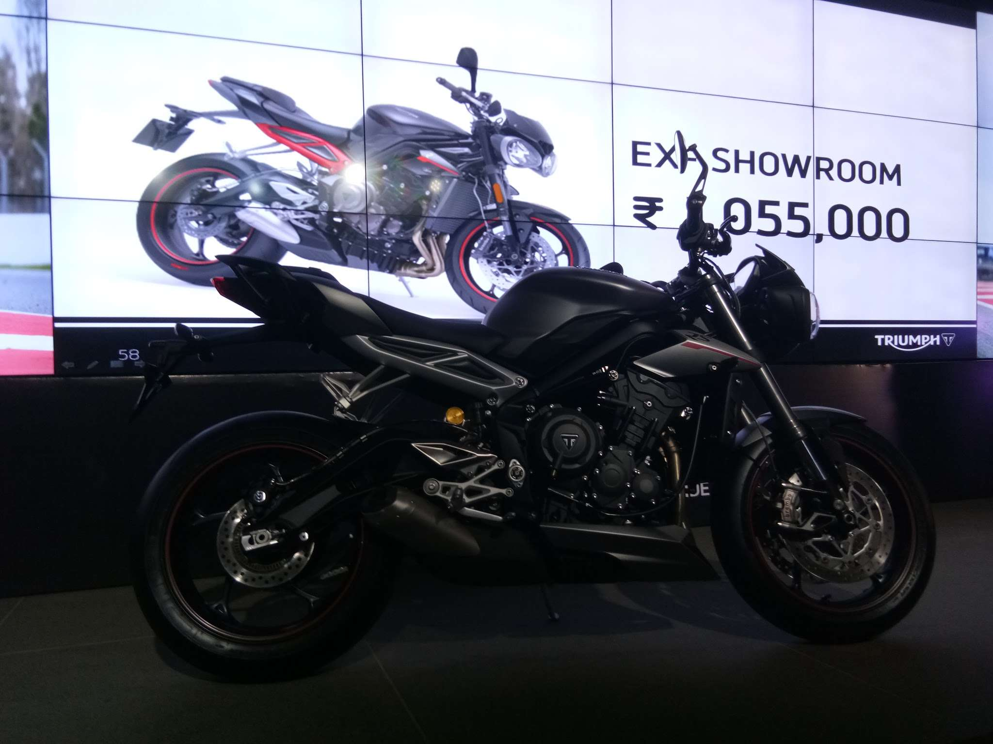 Triumph Street Triple Rs Triumph Motorcycles Launches New Street