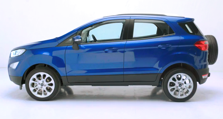 Ford Unveils New Ecosport Facelift
