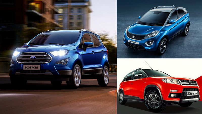 With Better Engine And New Looks The Ford Ecosport Facelift Will Be A Direct Challenge