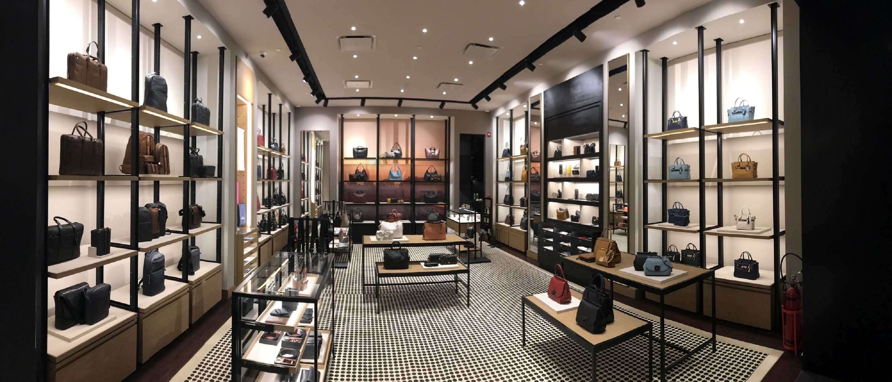 New York's luxury brand Coach opens at Delhi international airport