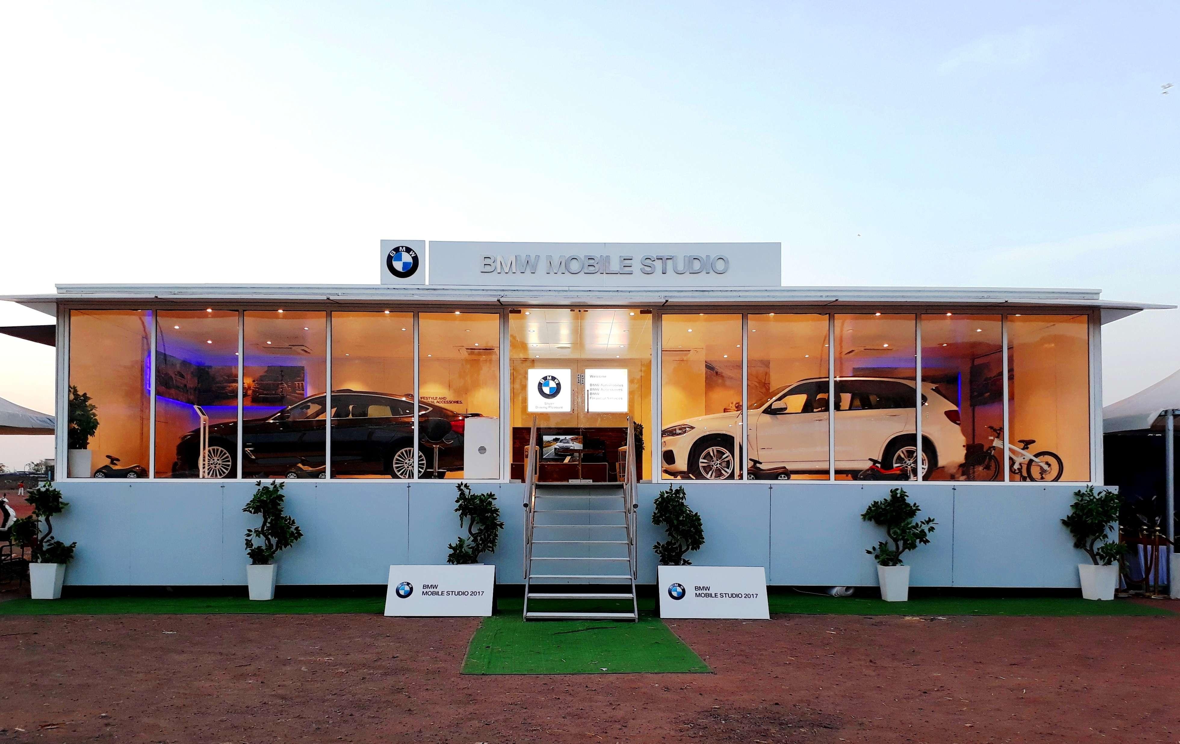 krishna automobiles: bmw india rolls out mobile studio in jalandhar