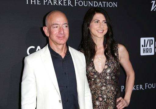 A look inside the marriage of the world's richest couple Jeff and Mackenzie Bezos