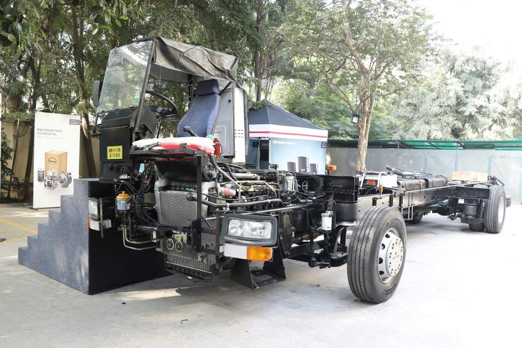 bus chassis: MAN unveils the new CLA BS-IV Bus Chassis range