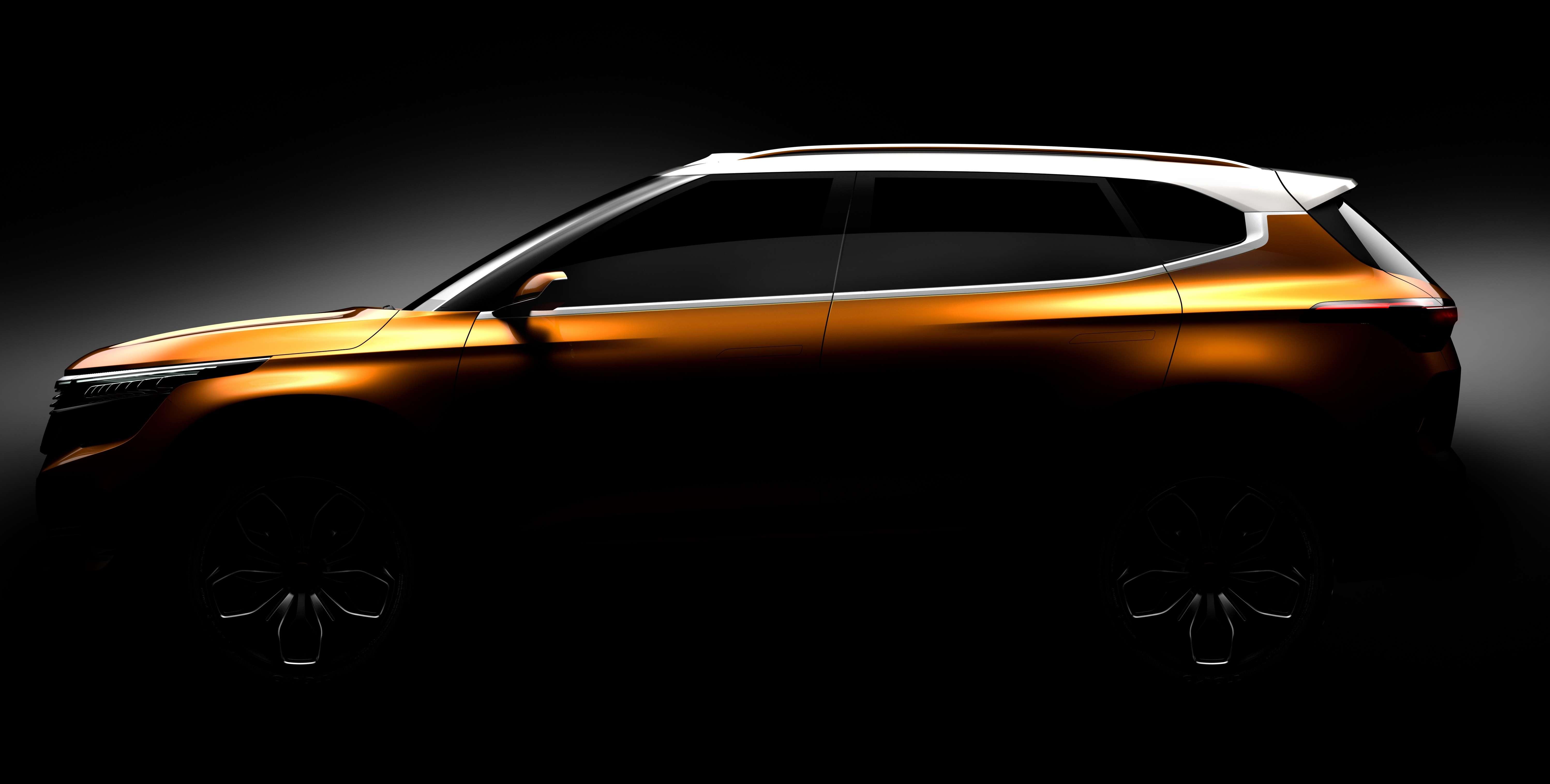 Car Expo Standsay : Kia sp concept auto expo kia motors to showcase global