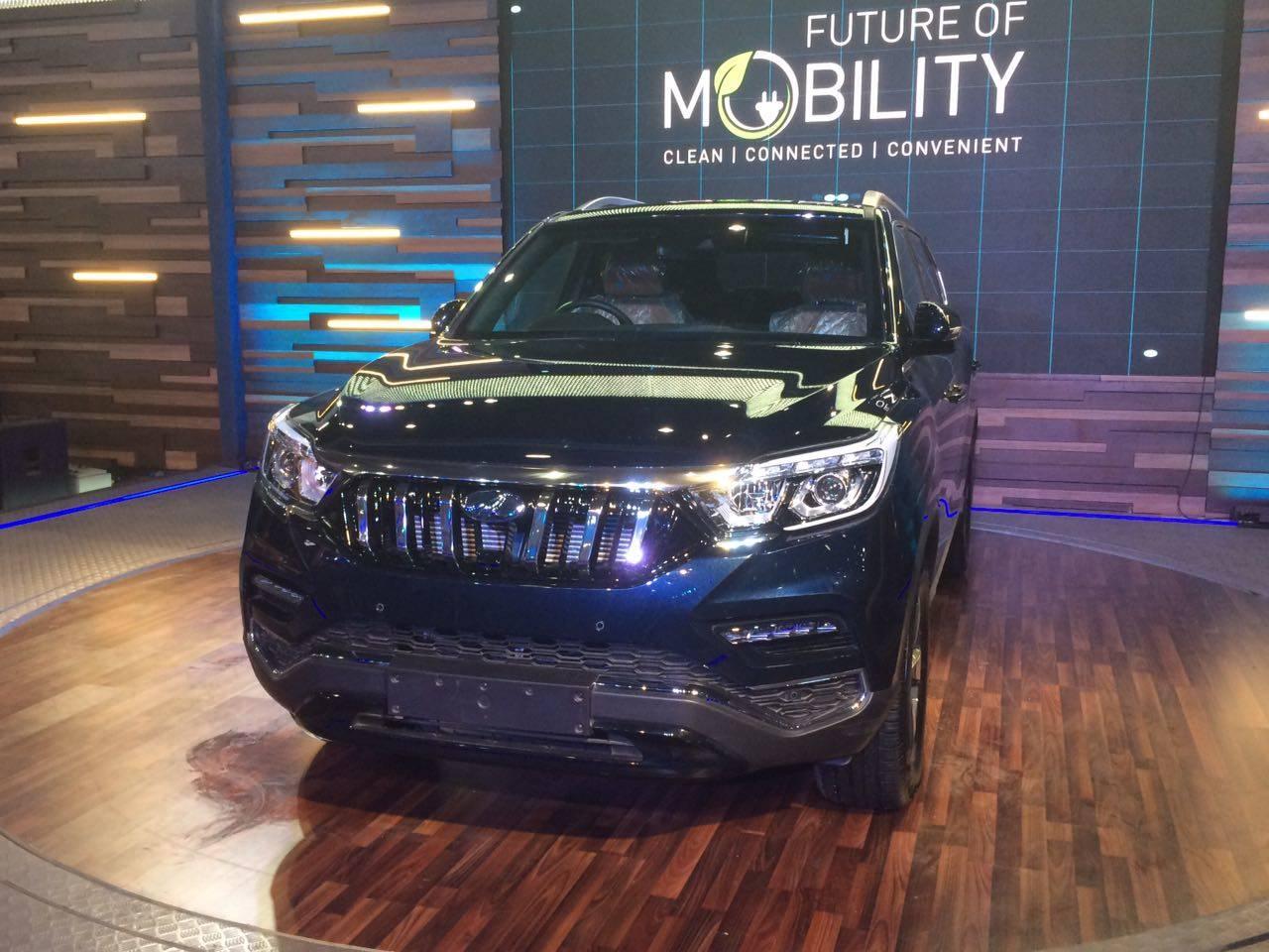 Mahindra Mahindra Autoexpo2018 Mahindra Unveils New G4 Rexton