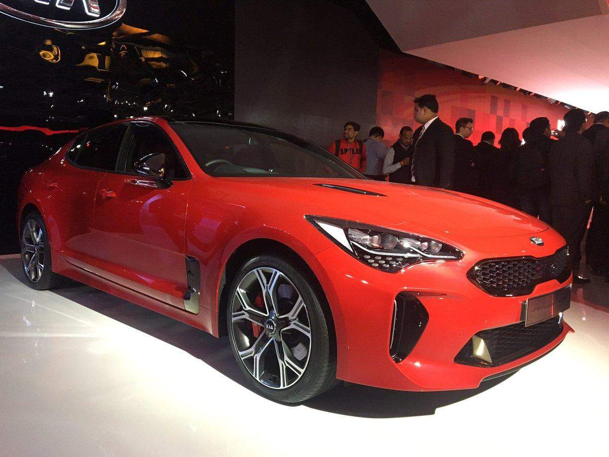 Auto Expo AutoExpo Kia Motors Targets Annual Car Sales Of - Auto show car sales