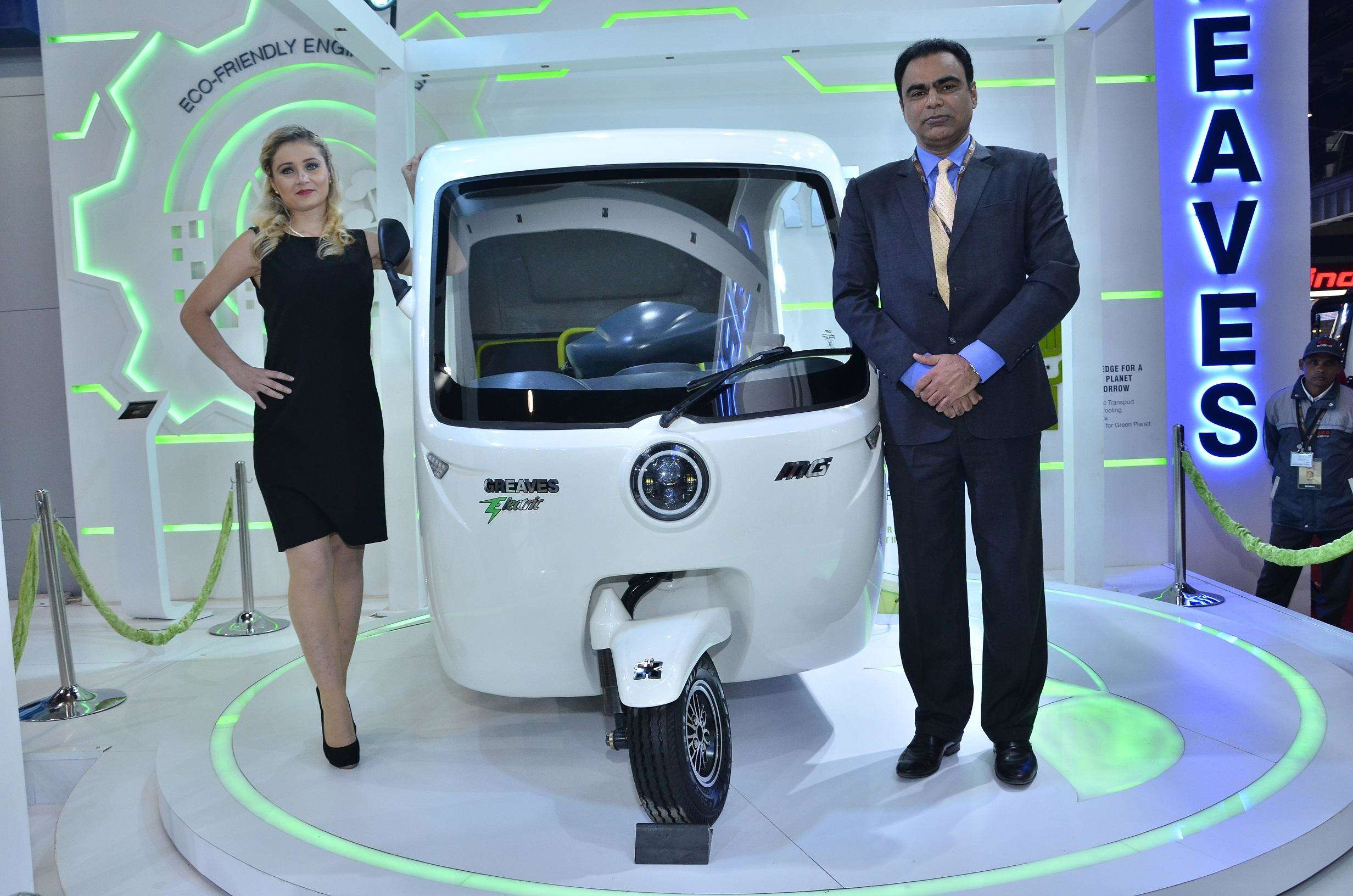Greaves Cotton Autoexpo2018 Greaves Cotton Launches Two Powertrain Solutions Auto News Et Auto