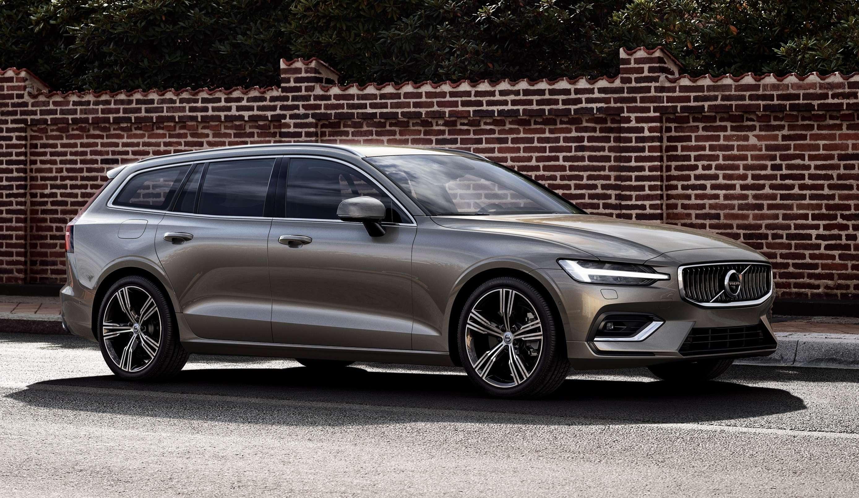 volvo cars: volvo cars launches mid-size premium estate v60 in