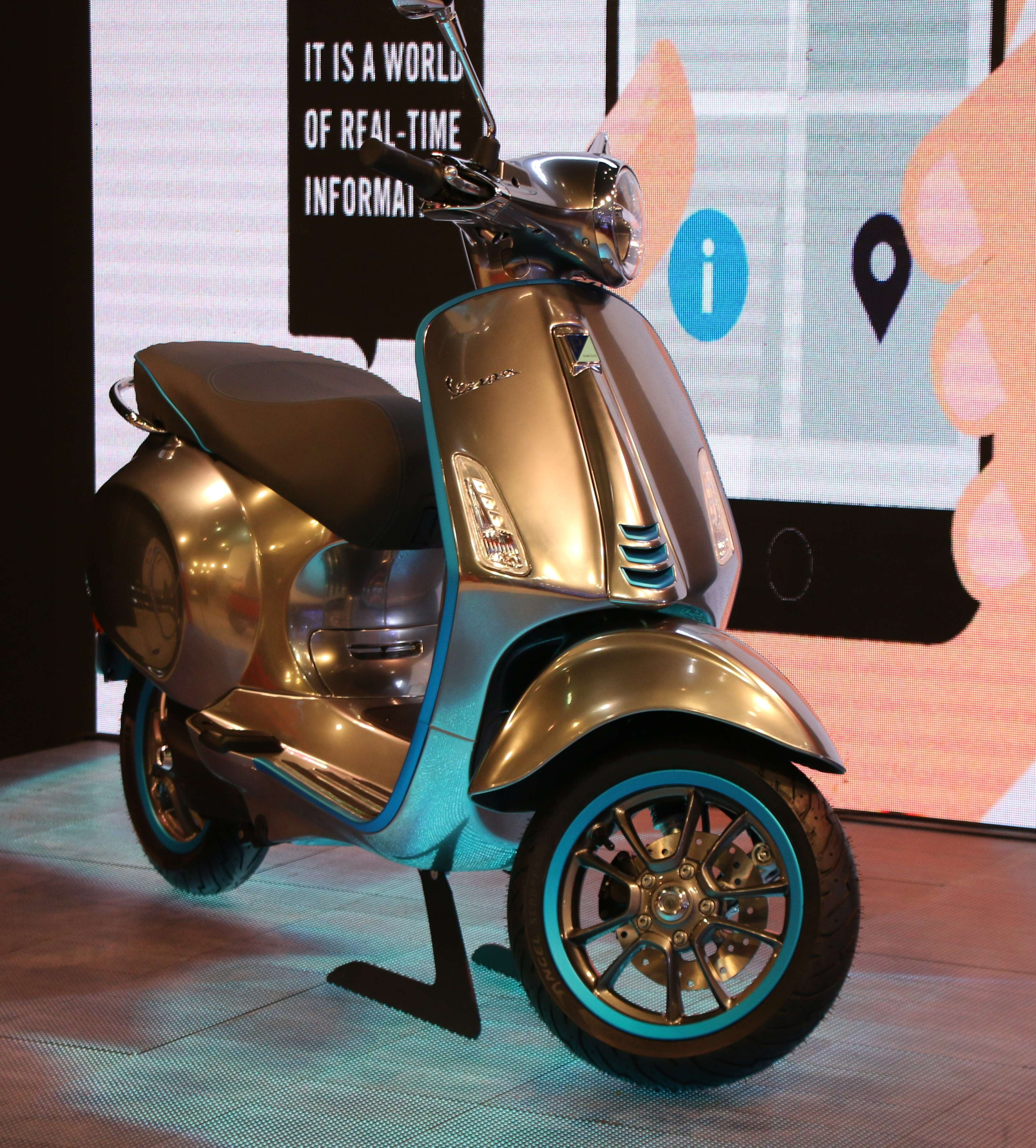 """""""We are currently studying the Indian market on how it is moving in electrics, and how will regulations come in. Then depending on how things move in this direction, we will rollout the electric scooter,"""" he added."""