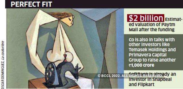 SoftBank in talks with Paytm Mall for a Rs 3,000 crore round