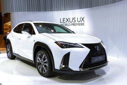 File In This March 6 2018 Photo The New Lexus Ux Is