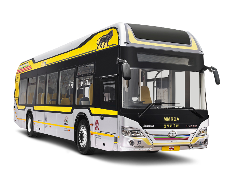 The vehicle also complies with all Urban Bus Specifications (UBS-II), Automotive