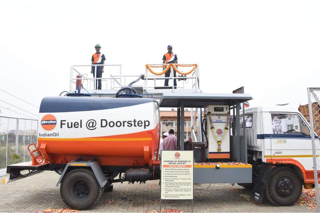Indian Oil Corporation: India's first home-delivery of Diesel kicked