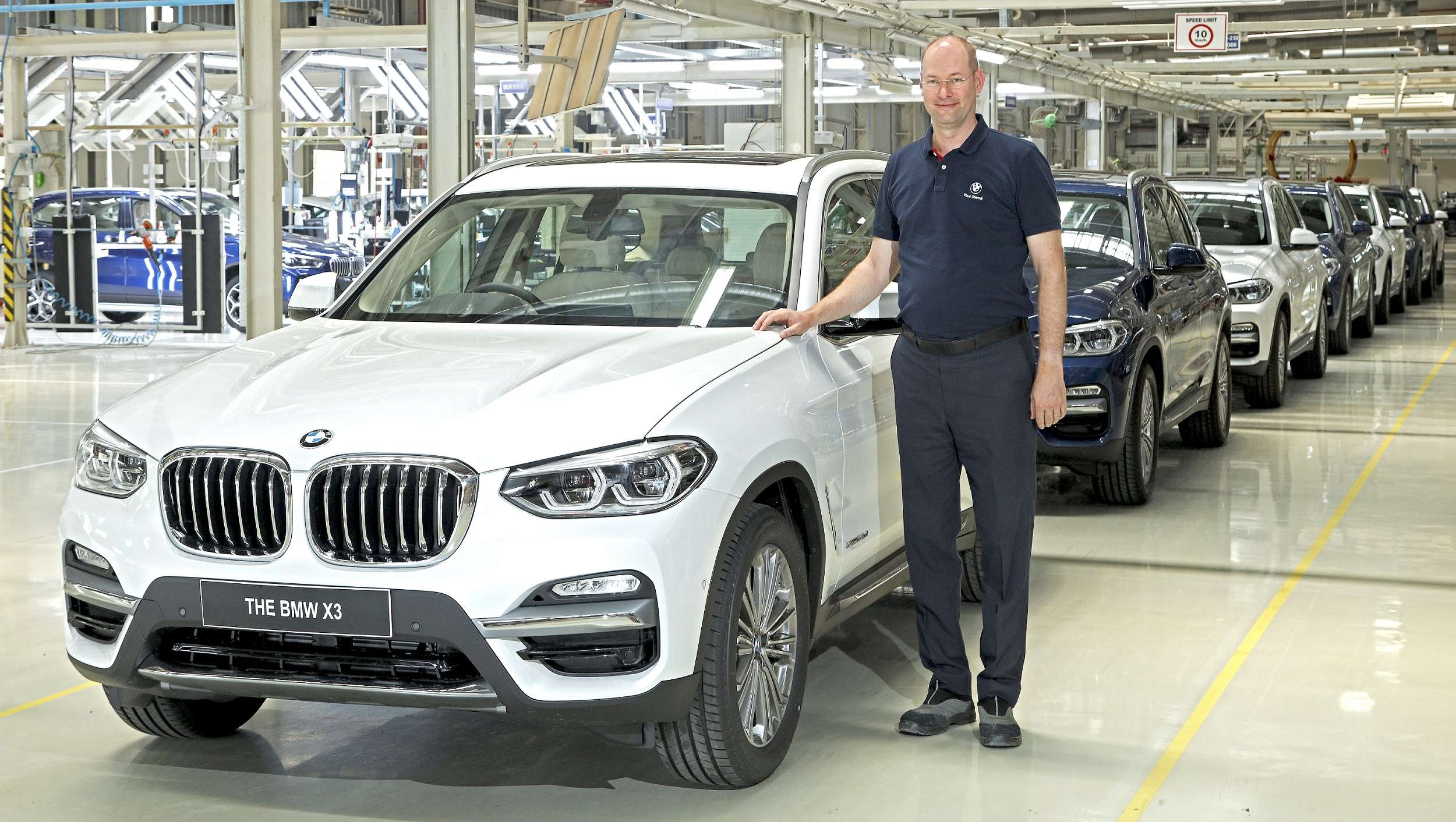 Bmw Bmw Group Plant Chennai Starts Production Of The All New Bmw X3