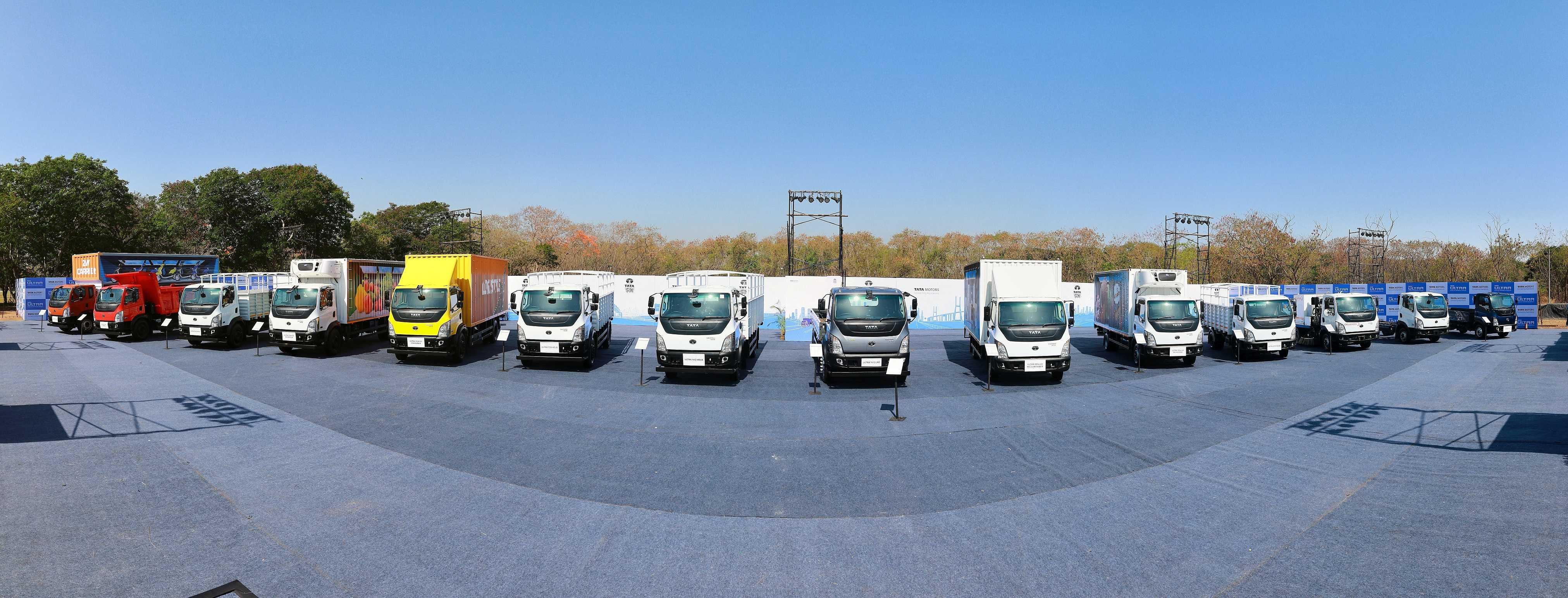Tata Motors launches new range of Ultra trucks