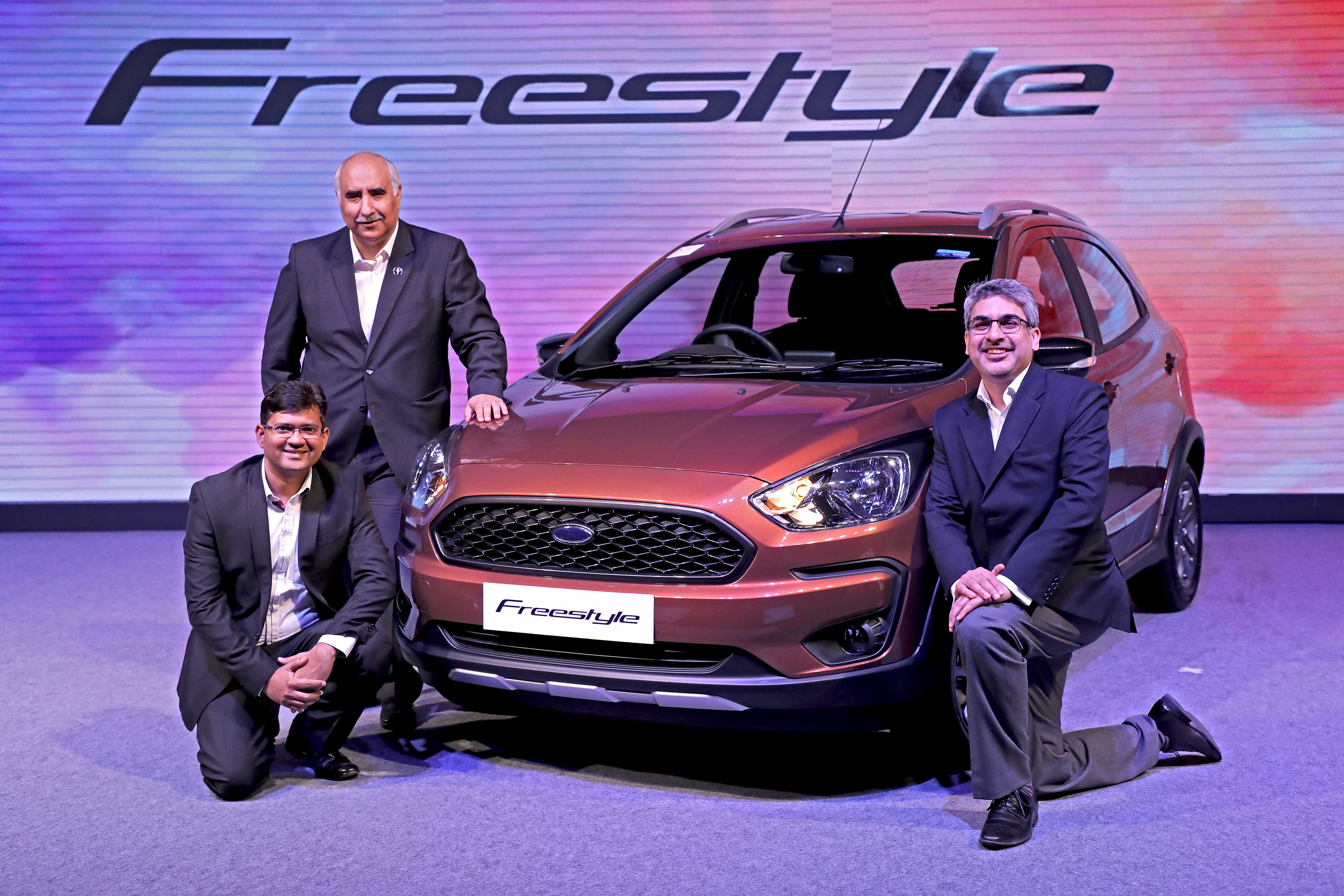 Ford Freestyle Price Ford Freestyle Launched In India At Starting