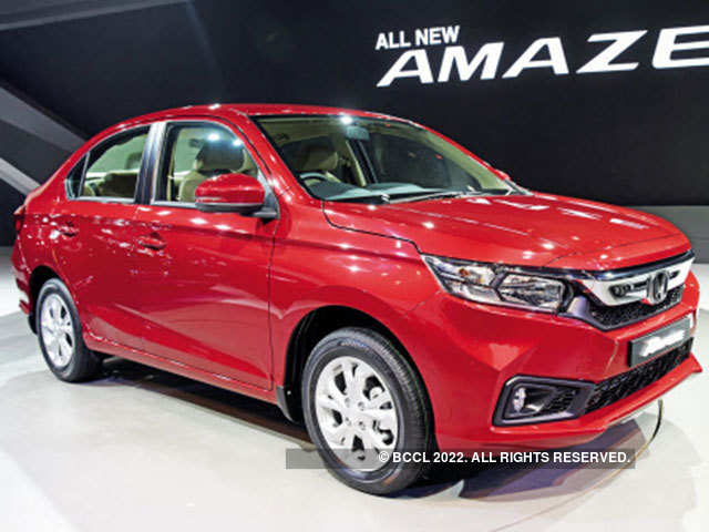 Amaze Honda Banks On 3 New Models To Beat Market Growth In India