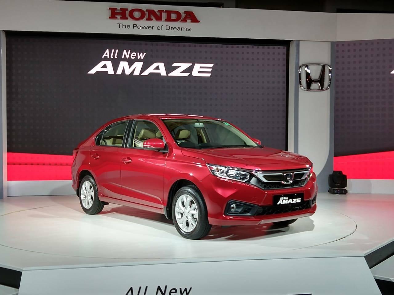 Honda Amaze Price Interiors And Specs Honda Amaze Launched At A