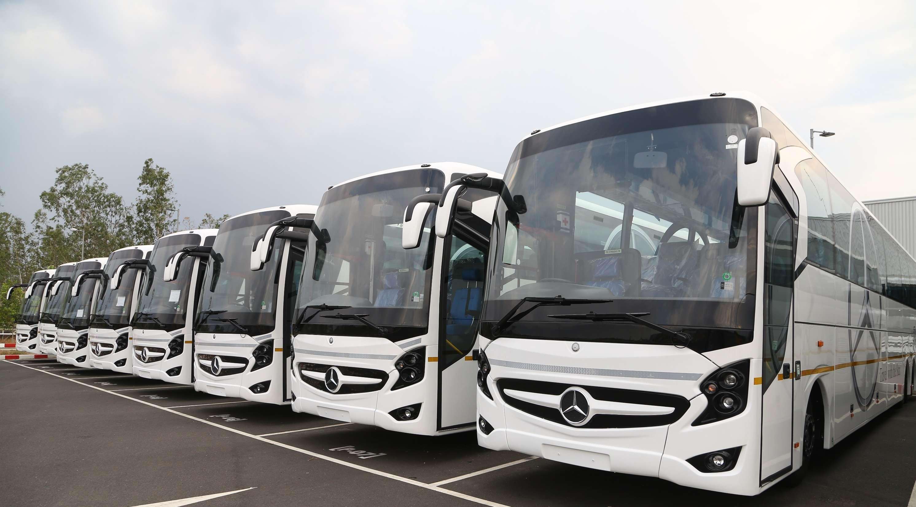 Daimler Buses India Upgrades Mercedes Benz 2441 Shd