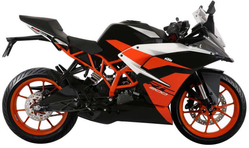KTM RC 200 black colour variant launched