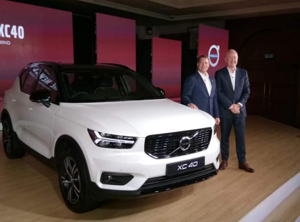 Xc40 R Design Volvo Cars India Launches Xc40 R Design At Rs 39 90