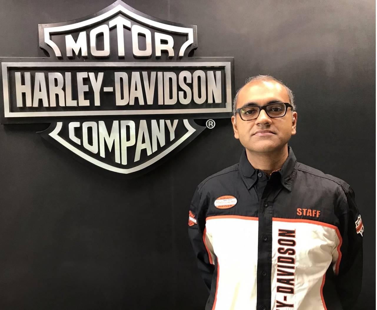Piyush Prasad appointed Manager-Market Operations, Harley Davidson India